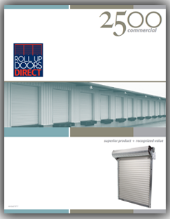 Model 2500 roll up door brochure