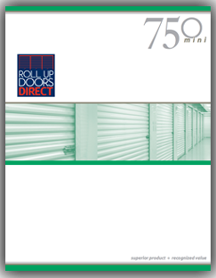 Roll Up Door Model 750  brochure